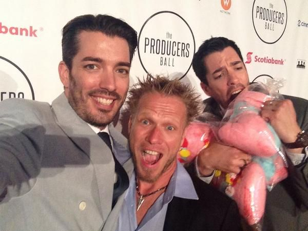 Hanging at the 2014 @producersball with @mrdrewscott and Paul LaFrance :)