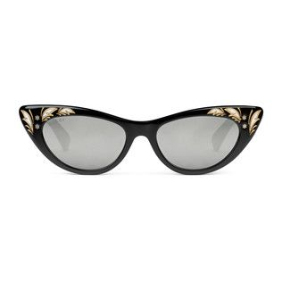 bbeb019b3a17 Cat eye acetate sunglasses - Gucci Women's Cat Eye 418822J07401102 ...