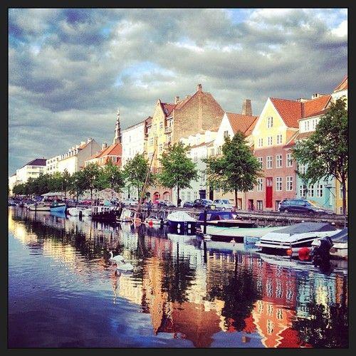Nick Karvounis Christianshavn #denmark #christianshavn #danmark #københavn #canal #landscape #copenhagen #nickkarvounis