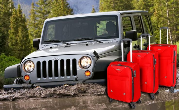 Jeep Bags | Luggage | Jeep Bags 2015