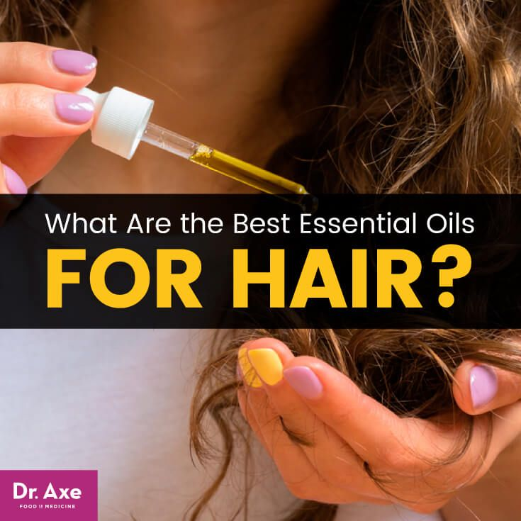 Essential oils for hair - Dr. Axe