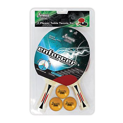 Formula enforcer 2 player #table #tennis ping pong set 2 bats 3 #balls 1 star val,  View more on the LINK: 	http://www.zeppy.io/product/gb/2/172224781324/