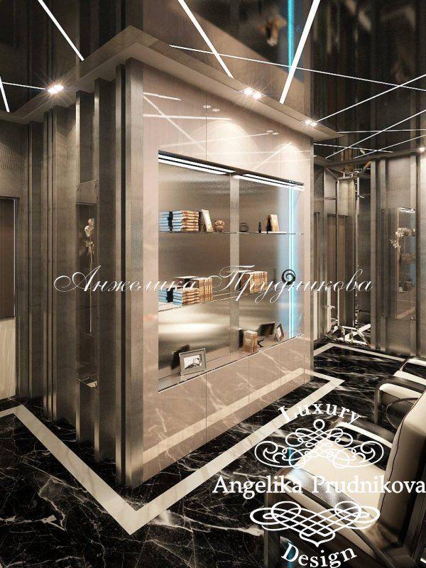 Интерьер квартиры на Мосфильмовской в стиле Модерн - фото