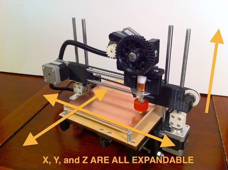 Printrbot: Your First 3D Printer by Brook Drumm — Kickstarter - Because a 3D printer is not something beyond the average inventor or designer.