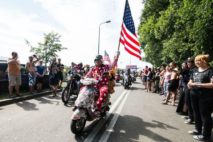 Parada motocyklowa na 21. Przystanku Woodstock: