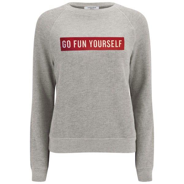 Unlimited Edition sweatshirt - Go Fun - Grey