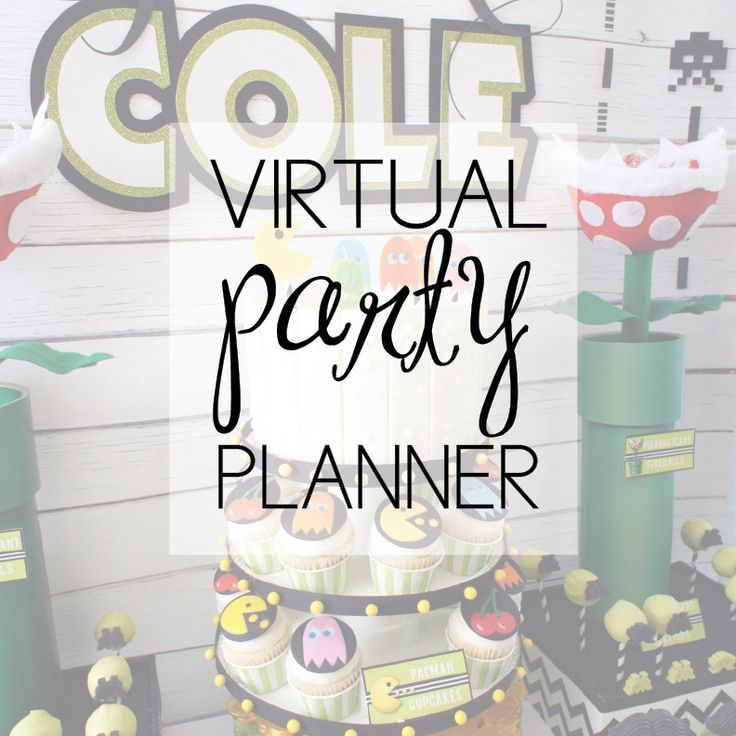 Virtual Party Planning Services From AmysPartyIdeas.com