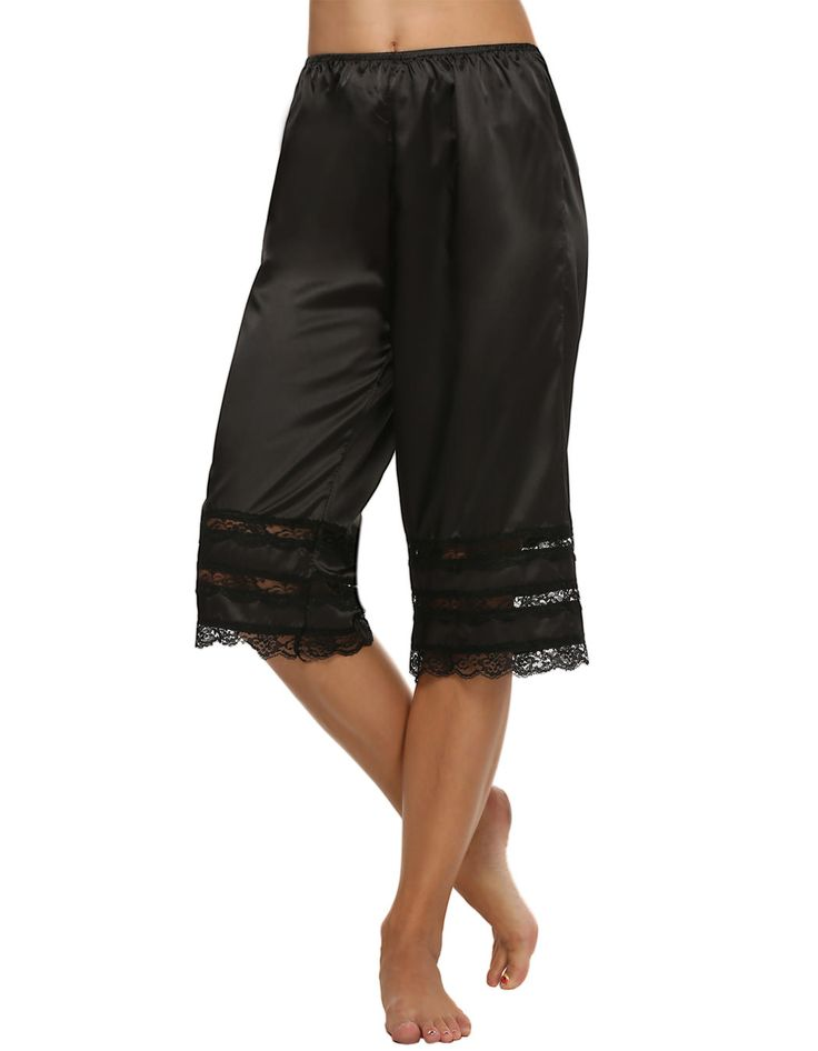 Long Pettipants Slip with Lace Trim //Price: $20.08 & FREE Shipping //    Long Pettipants Slip with Lace Trim Do you wear slips? Some women prefer pettipants. Short or long pettipants can be worn under wide-leg pants or skirts. Chafing of the thighs can be avoided by wearing pettipants. :) N.B.  Size L in black and beige are currently out of stock. ________________________________________         Get it here ---> https://coveralls.store/product/long-pettipants-slip-with-lace-trim…
