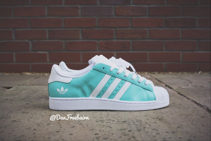 Adidas Superstar Teal