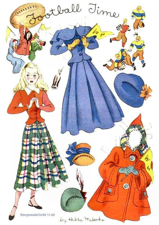 Best Paper Dolls Images On   Paper Puppets Dolls