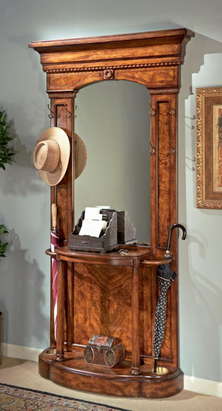 76 Best Antique Hall Trees Images On Pinterest Hall
