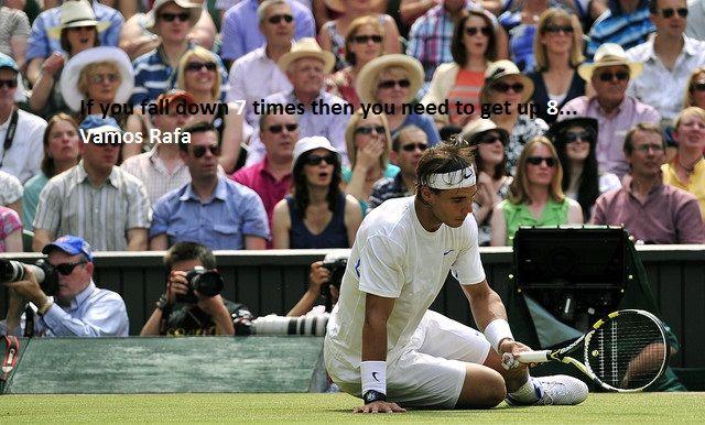 That's why you're a champion Rafa