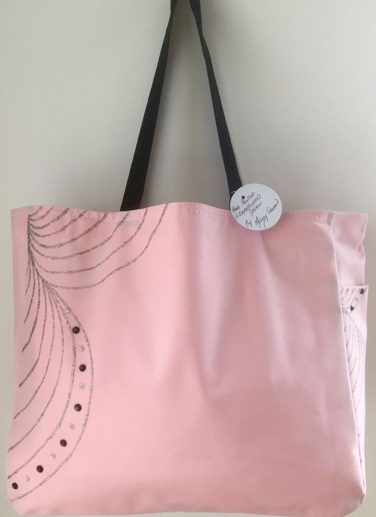 """Bling-a-Belle"" Hand Painted Design by My Escape Art. Versatile Tote Bag"