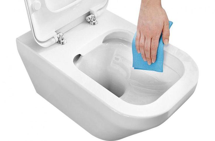 Spülrandloses WC - pflegeleicht
