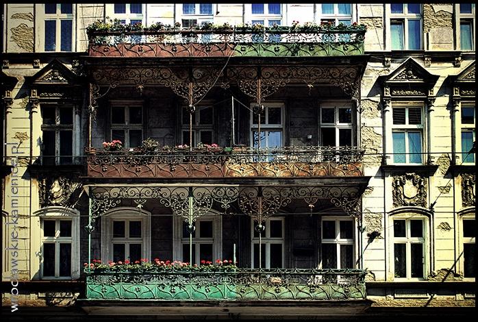 ul. Piastowska  #Wroclaw #Breslau #Poland #architecture #tenement #artnouveau