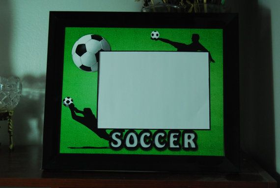 8x10 Soccer Inspired Framed Photo Matte by SapphireCustomPhotos, $17.00