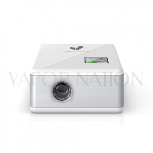vaporfection vivape desktop vaporizer white front