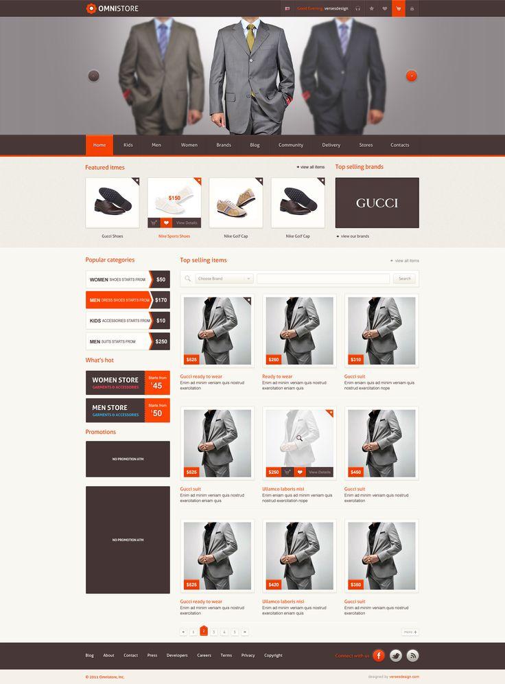 online store shopping cart UI