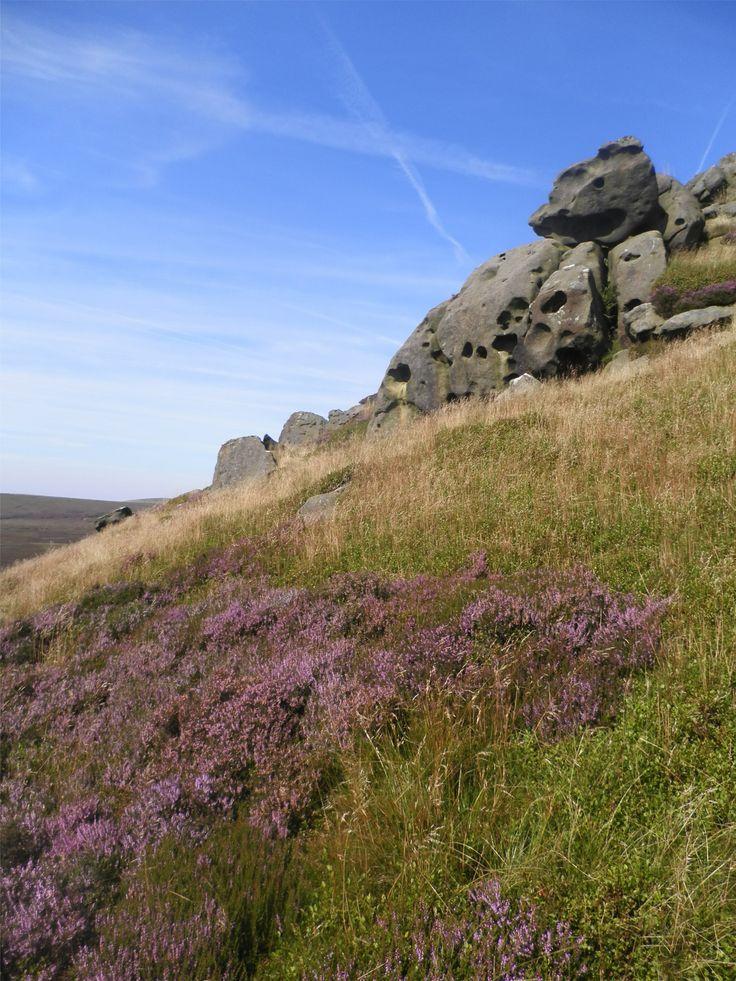 Grinah Stones, the heart of Bleaklow.