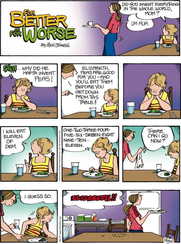 For Better or For Worse Comic Strip, August 17, 2014 on GoComics.com