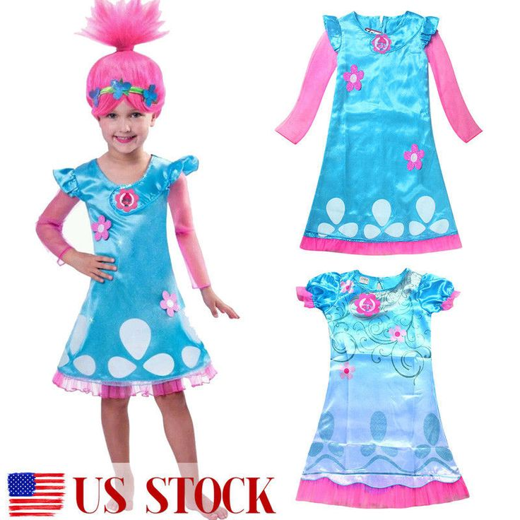 Cool Great Child Trolls Poppy Troll Doll New Fancy Dress with Wig Costume Kids Girl Outfit  2018 Check more at http://24shopping.cf/my-desires/great-child-trolls-poppy-troll-doll-new-fancy-dress-with-wig-costume-kids-girl-outfit-2018/
