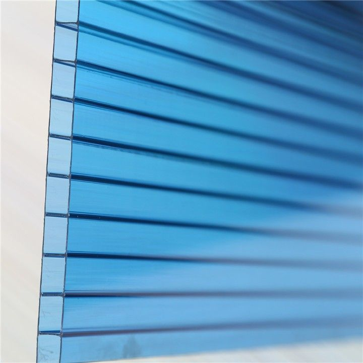 3mm Twin Wall Polycarbonate Hollow Sheet For Sale With Lowes Polycarbonate Panels