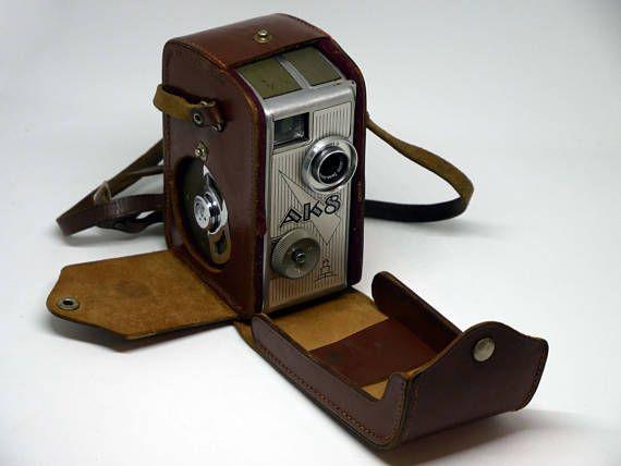 PENTACON AK8 8mm camera Carl Jena Triotar 10mm f/2.8 Lens