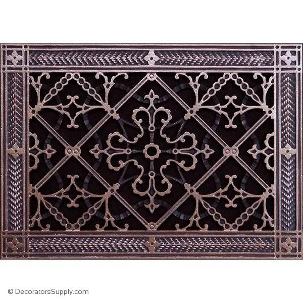 Resin Artes Crafts Grille 8x12 Duct 10 X 14 Frame Bai Hvac Grille Vent Cover Decorators Supply