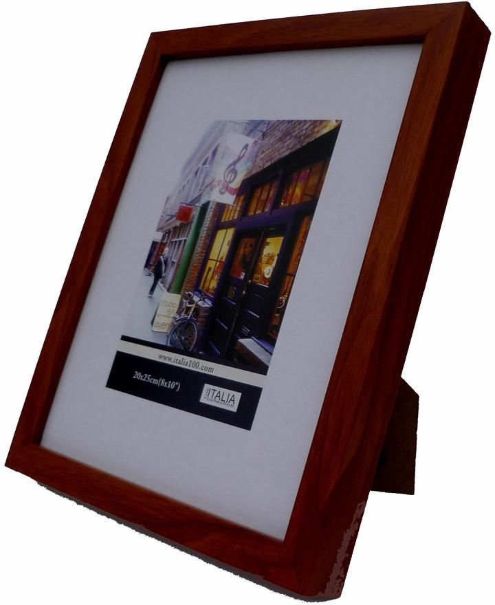 wholesale picture-frame---dark-brown-wood-(5-x-7-in.)-(case-of-24) (Case of 24)