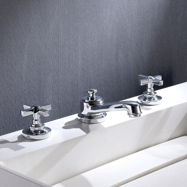 Widespread Bathroom Faucet With Drain Assembly Widespread Bathroom Faucet Bathroom Faucets Faucet
