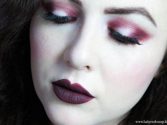 Babyredvamp Makeup: Face Of The Day - Red Exorcism (Inglot & Kat Von D...