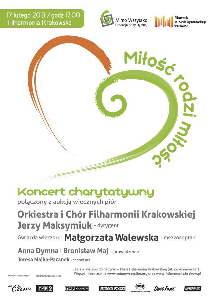 """""""Miłość rodzi miłość"""" – Koncert charytatywny / 2013"""