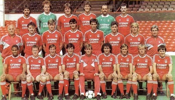 The great Liverpool squad of 1987-88. A season in which John Barnes excelled! #LFC