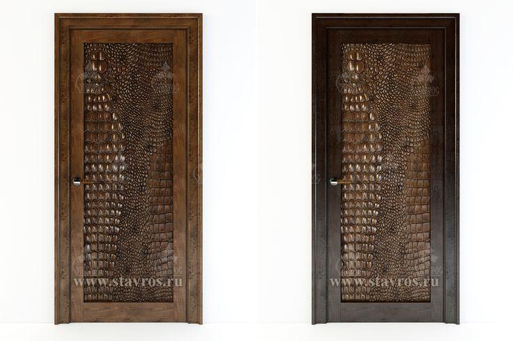 """Дизайн-проект межкомнатной двери, украшенной декоративной вставкой из дерева """"Крокодиловая кожа"""". Вариант 2. #дверь #двери #декор #фактура #текстура #крокодиловаякожа #дизайн #проект #интерьер Design project of interior door with decorative insertion from wood """"Crocodile skin"""". Option 2. #decor #design #wood #art #project"""