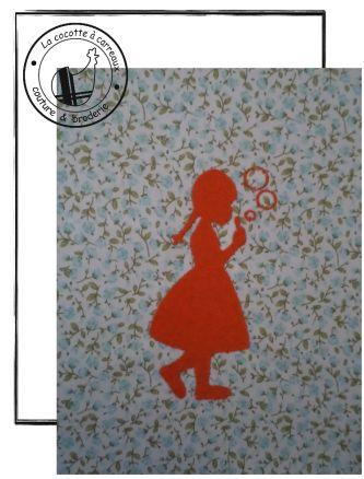 Broderie machine à télécharger - silhouette bulles de savon