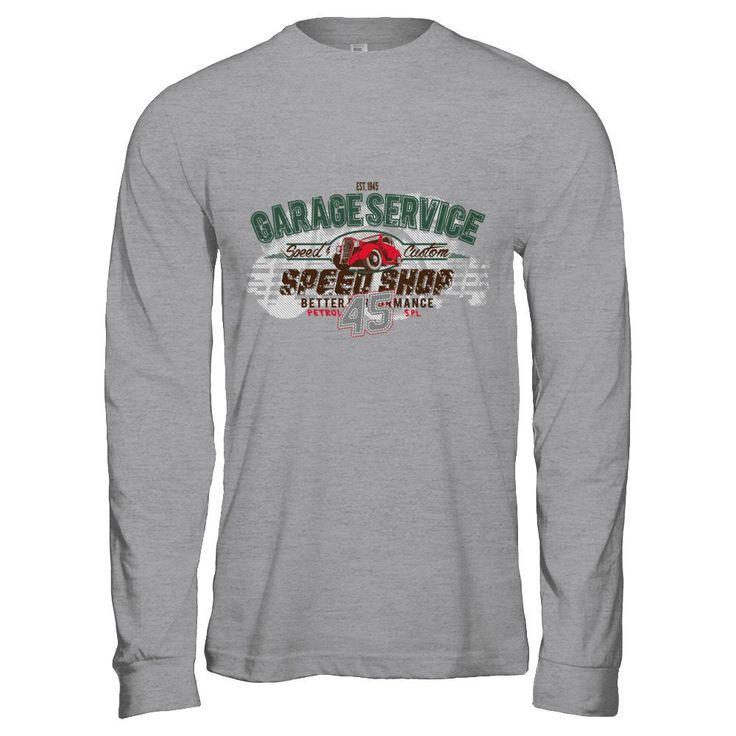 Speed Shop - Long sleeve t-shirt