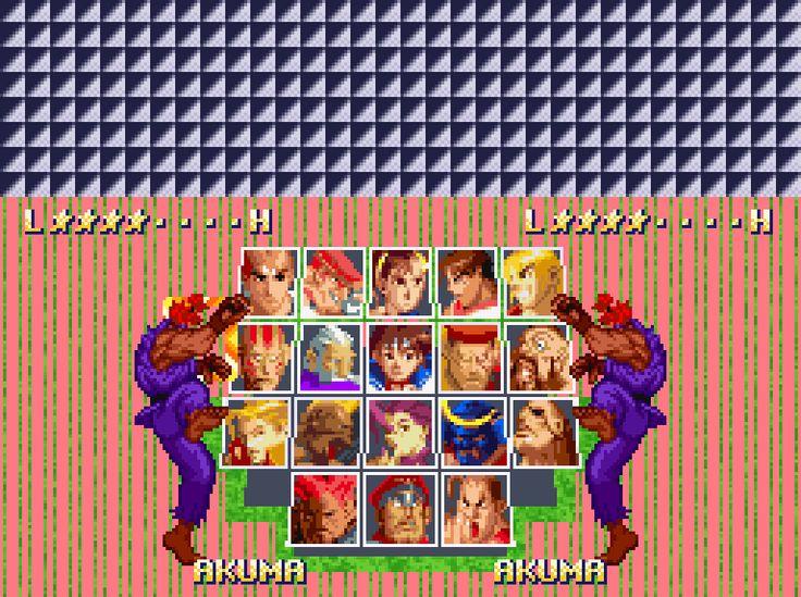 Street Fighter Alpha 2 [SNES].
