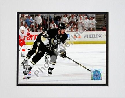 Sidney Crosby Game Three of the 2008 - 2009 NHL Stanley Cup Finals (#11) Double Matted 8 x 10… #sports #sportsshopping #sportswear