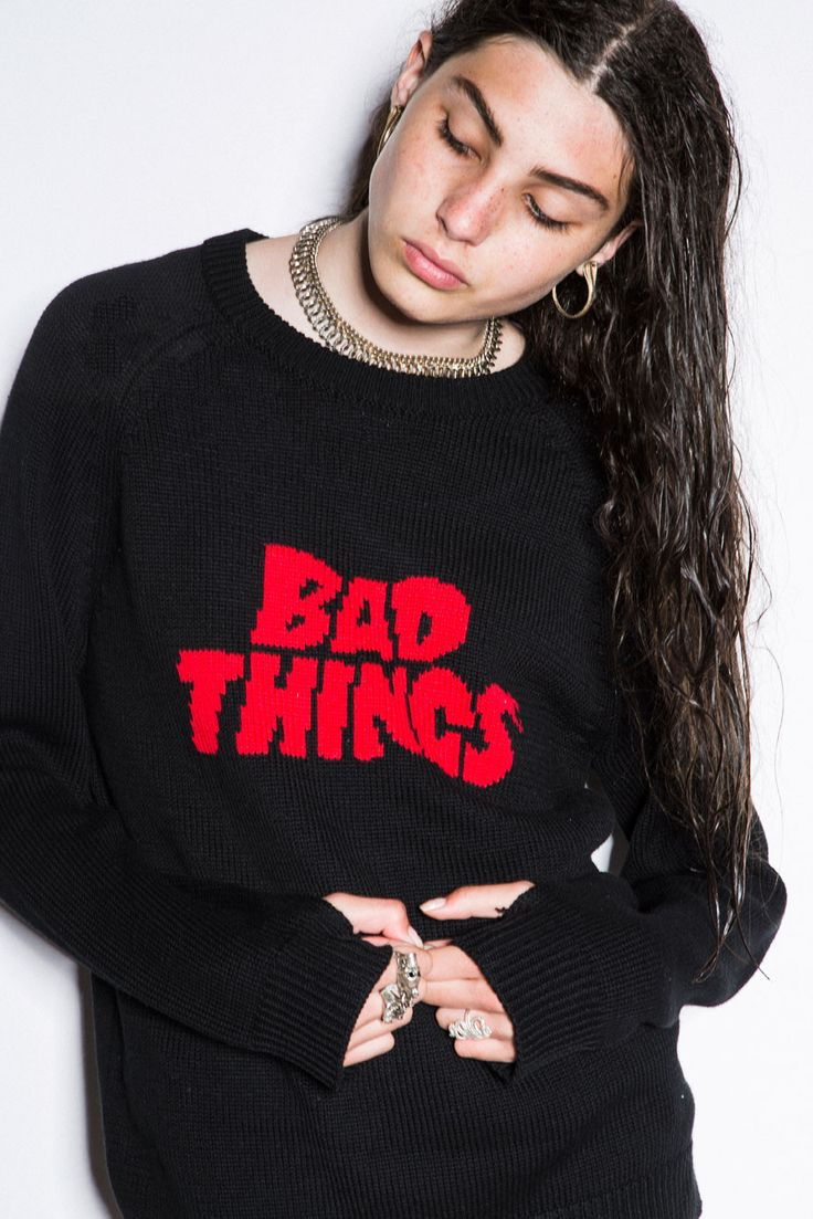 BAD THINGS LOGO KNIT – Bad Things Apparel