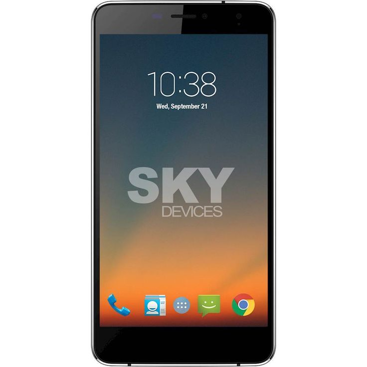 Unlocked SKY Devices - Elite 6.0L+ 4G LTE with 8GB Memory Cell Phone - Black