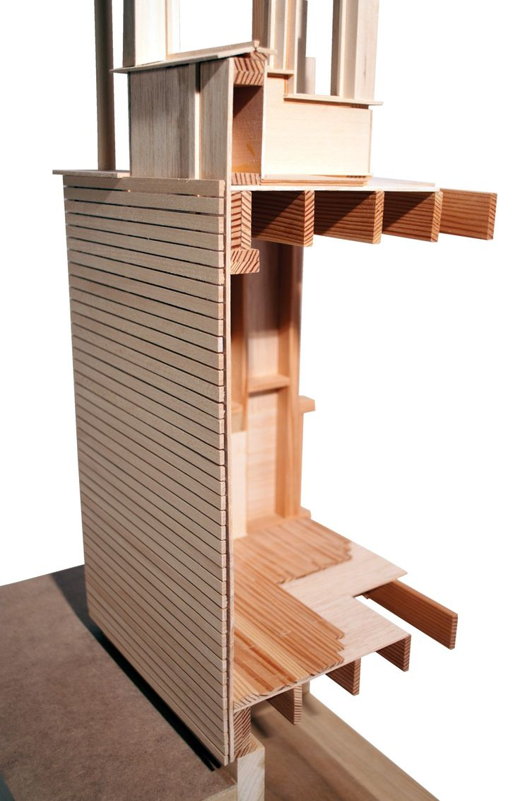 Wood Wall Section Model
