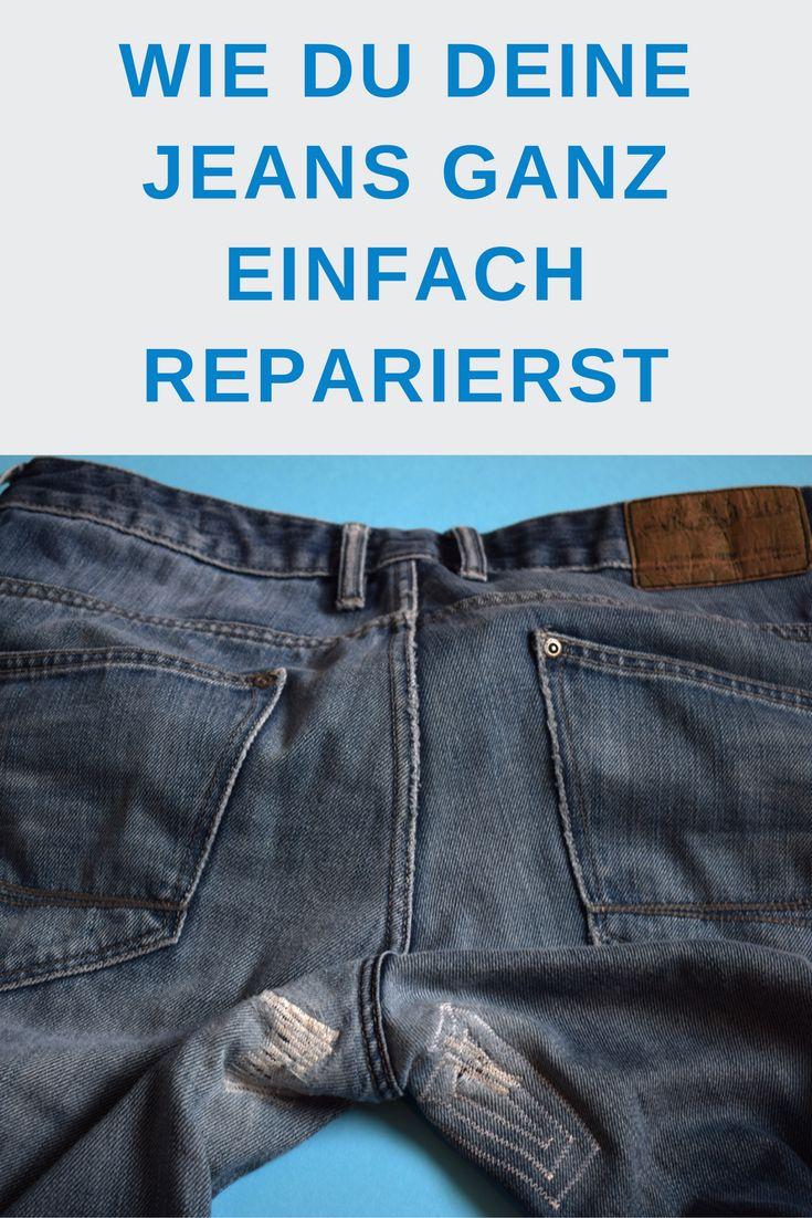 Tipps und Tricks: Jeans ganz einfach reparieren