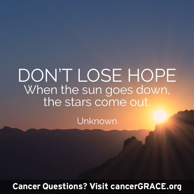 Have questions about cancer? Visit cancerGRACE.org for top-tier information about cancer, to connect with other patients and to have your questions answered by world class physicians.