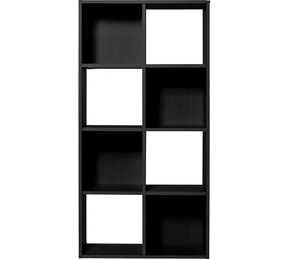 Buy HOME Squares 8 Cube Storage Unit - Black at Argos.co.uk - Your Online Shop for Storage units, Storage, Home and garden.