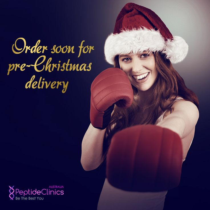Want your #Peptides delivery before the holidays? See below for all our pre-Christmas/New Year delivery cut-off dates. Be the best you over #Christmas too!-Monday December 21: Last Day for COLD CHAIN shipping dispensed before Xmas, please place your order WELL before this date to ensure the doctor has time to issue your prescription-Tuesday December 29: the compounding pharmacy will be able to post all orders to Sydney/Melbourne Metro Areas only (next day delivery services only)-Mond
