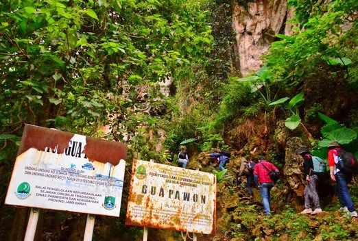Pawon Cave: This spot is one of the caves in the Rajamandala karst area that is still quite well preserved. The local re...