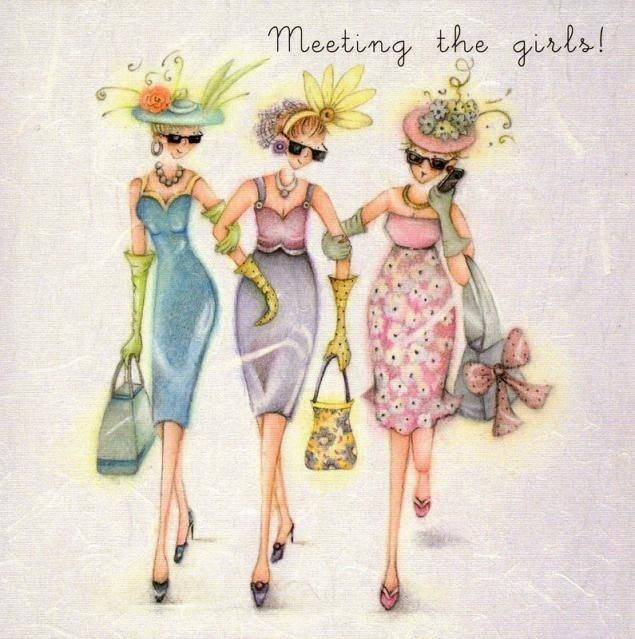 Meeting the girls...