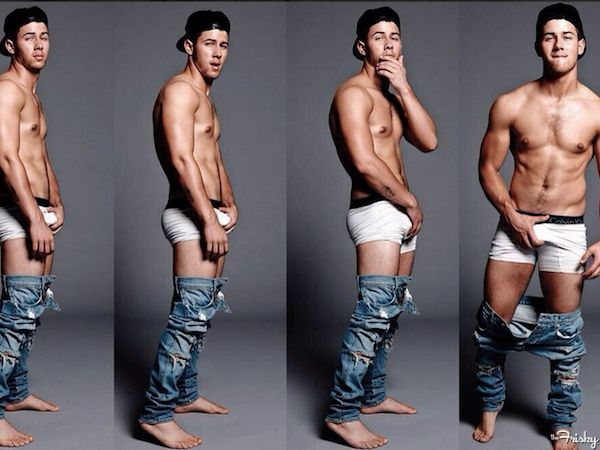 Nick Jonas Drops Trou And Grabs His Junk In A New Photoshoot That's Turning Me On