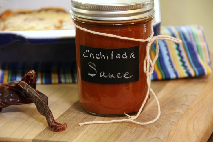 Red Enchilada Sauce 8 oz dried mild red chiles (note: the smaller the chile the spicier it is) 1/2 onion, chopped 4 garlic cloves 1/4 cup ve...