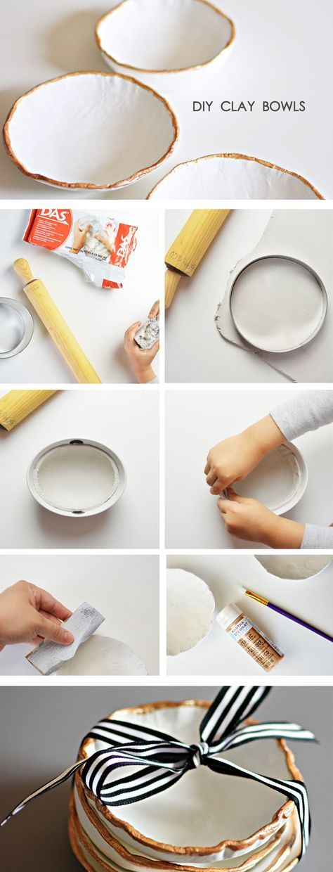 297 best images about project ideas air dry clay on pinterest for Craft porcelain air dry clay